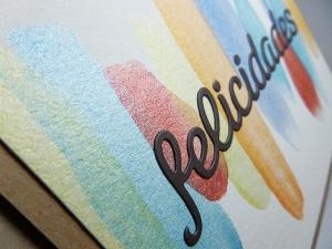 detalle tarjeta creativa para La Pareja Creativa