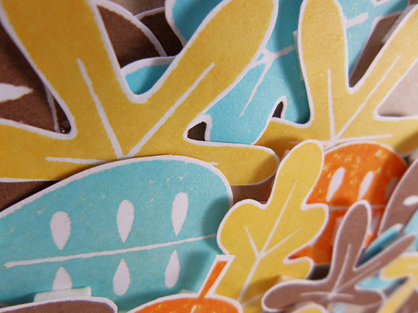 Tarjeta creativa realizada para La Pareja Creativa con los nuevos productos de otoño e invierno