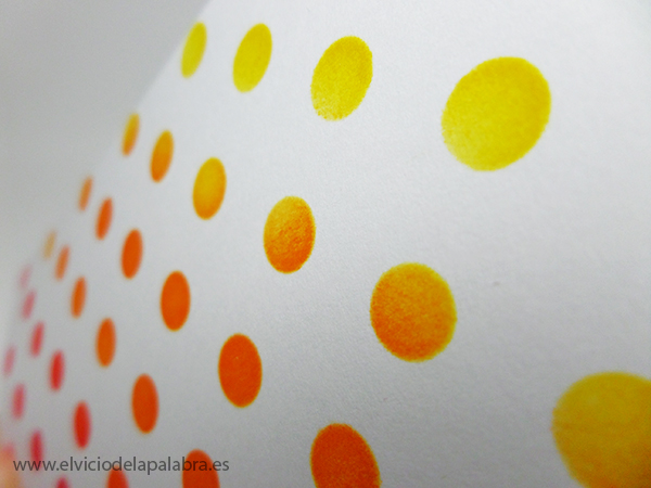 Tarjeta creativa elaborada con un stencil y Distress InksTarjeta creativa elaborada con un stencil y Distress Inks