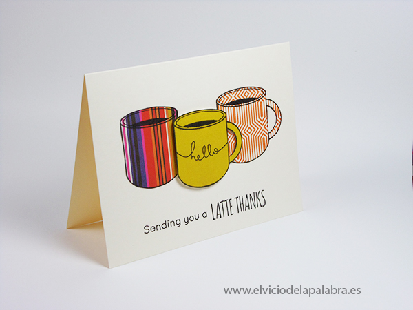 Tarjeta creativa elaborada con el kit de octubre de Simon Says Stamp