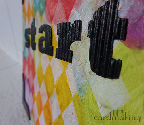 Portada mixed media del nuevo art journal con gelatos