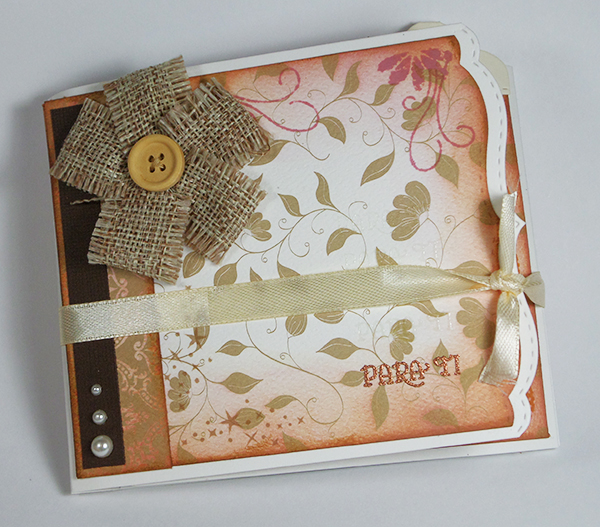 Portada de tarjeta creativa realizada para La Pareja Creativa
