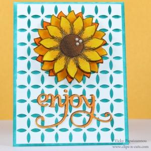 Post sobre Vicky como artista cardmaker