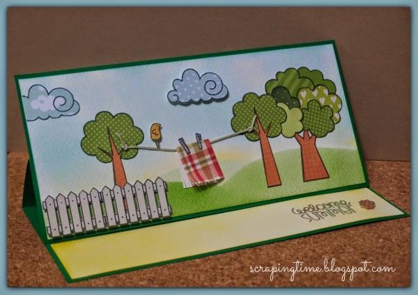 Tarjeta elaborada por Yolanda Garrido