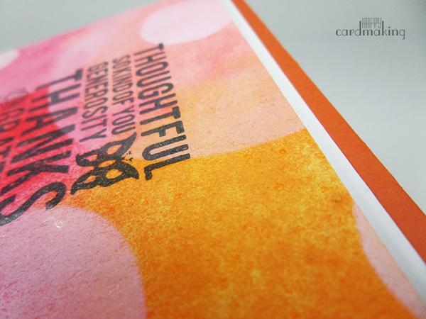 Tarjeta elaborada con acuarela y tinta de pigmento blanca