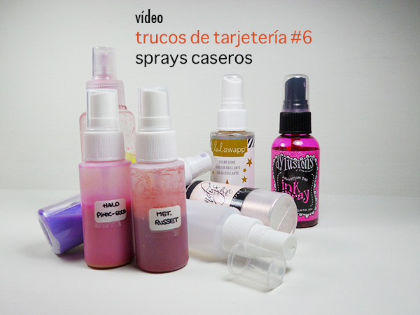 Vídeo en youtube dedicado a los sprays creativos caseros