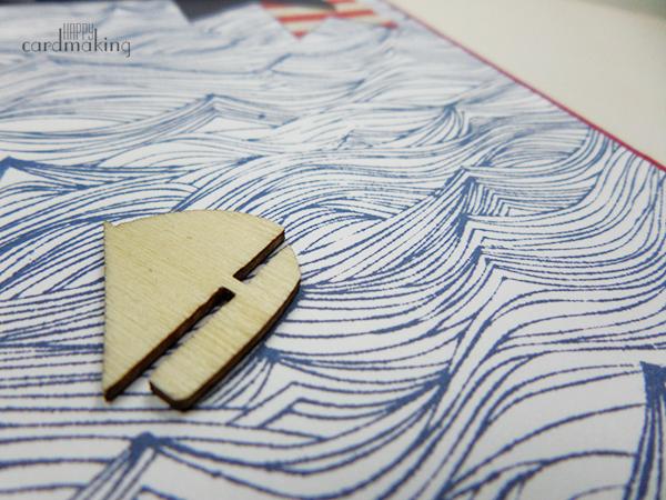 Tarjeta creativa náutica con nuevos productos de Hero Arts