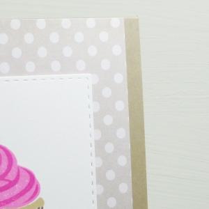 Tarjetas creativas con cupcakes