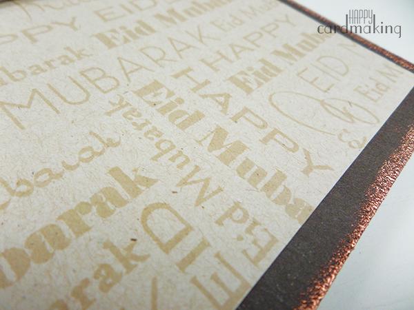 Tarjeta creativa utilizando set de sellos de Altenew