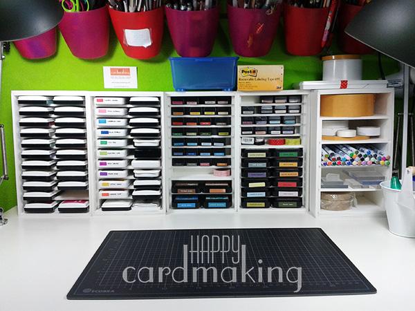 Cómo organizar tu mesa para scrapbooking