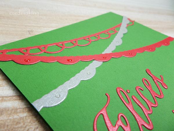 Sneak peek tarjetas guirnaldas La Pareja Creativa