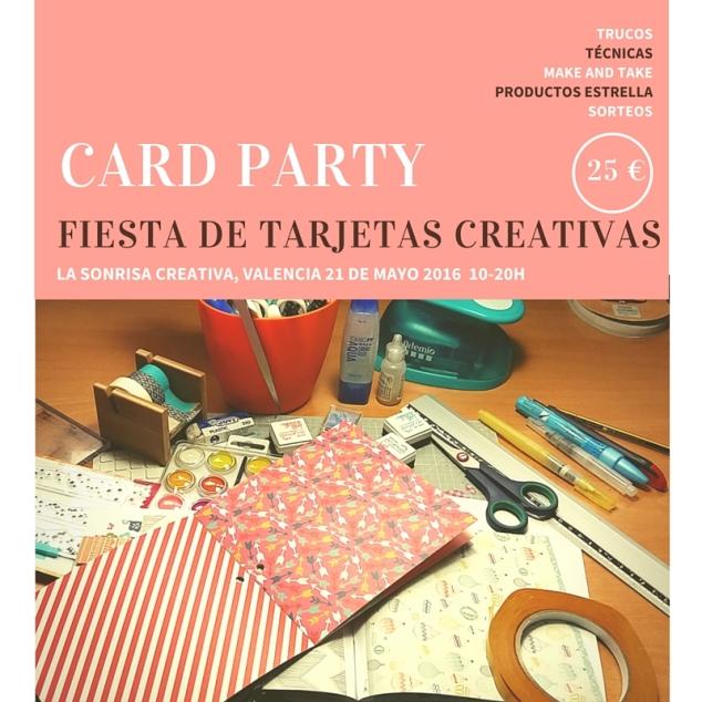 Encuentro tarjetería creativa en Valencia