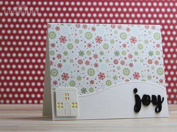 Tarjetas navideñas creativas elaboradas en el taller de Molt Craft