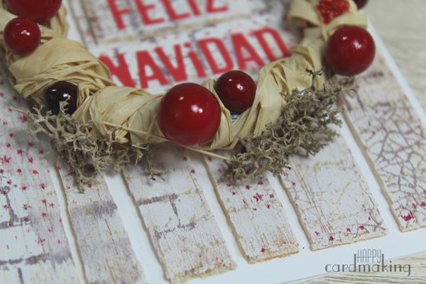 Tarjetas navideñas elaboradas con elementos naturales inspiradas en Lola Fons