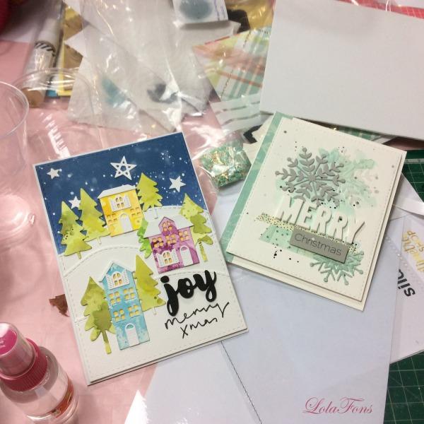Tarjetas de Susana-Molt Craft fotografiadas por Lola Fons-La Sonrisa Creativa