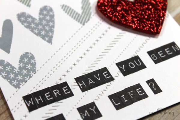 El mensaje de esta tarjeta proviene de una canción de Rihanna