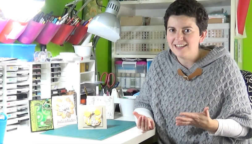 Vídeo presentación del canal Happy Cardmaking en YouTube